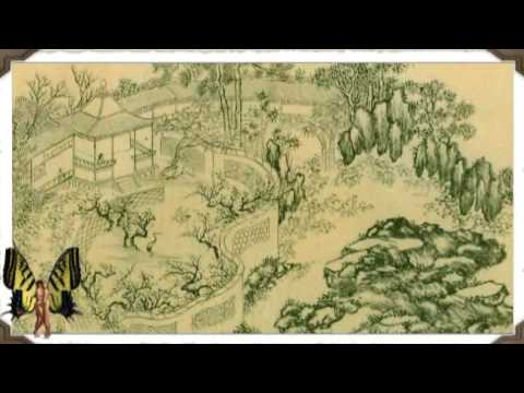 BioSphere Authentic Chinese Garden Plans Ancient Chinese Painting