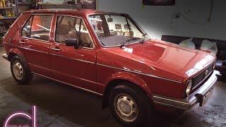 OFFSET DETAILING Totally Original 1982 VW Mk1 Golf 1 5 Auto GL