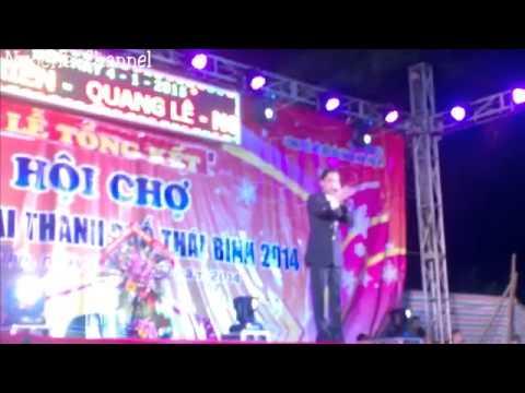 Ngọc Sơn tại hội chợ Thái Bình ngày 04/01/2015