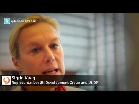 Interview with Sigrid Kaag, UN Development Group Representative to the Global Partnership