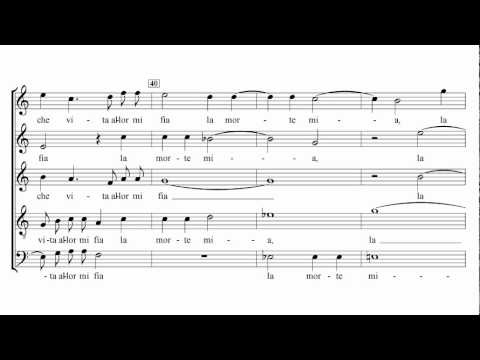 Carlo Gesualdo - O dolce mio martire