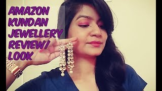 AMAZON KUNDAN JEWELLERY REVIEWS/LOOK
