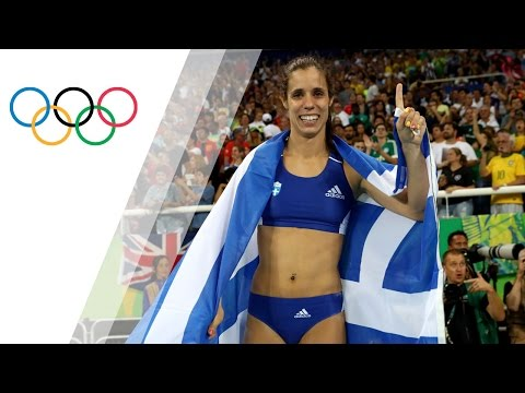 Gold for Greece's Stefanidi in Women's Pole Vault