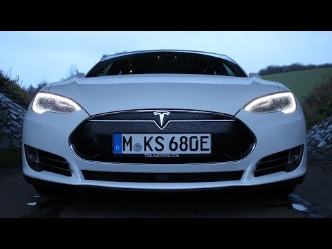 ' 2016 TESLA Model S P90D ' Test Drive & Review /// Autobahn / City / Country /// - TheGetawayer
