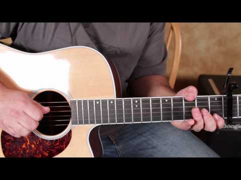 John Mayer - Queen of California - How to Play on Acoustic Guitar Acoustic Songs on guitar