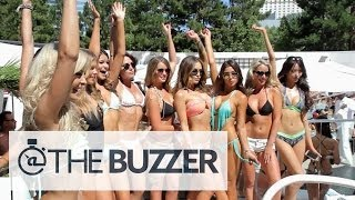 UFC Girls and Fighters at Las Vegas Pool Party - @TheBuzzeronFOX