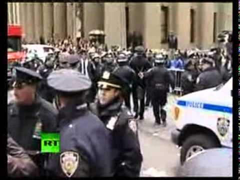 The Arrest of Retired Philadelphia Police Captain, Raymond Lewis - 'Occupy Wall Street'