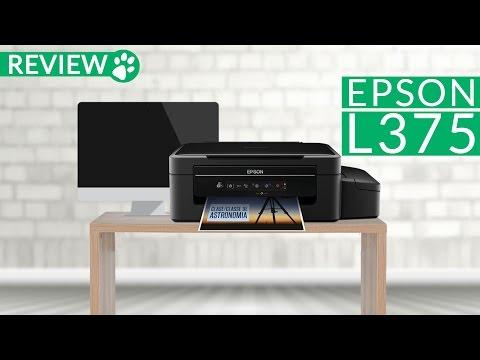 Review da Impressora Epson L375
