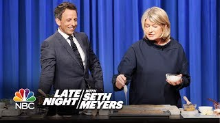 Martha Stewart Teaches Seth How to Make Strata and Homemade Pop-Tarts