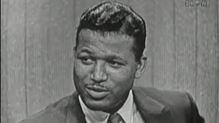 What 39 S My Line  Sugar Ray Robinson Jack E Leonard Panel  Jul 1 1956