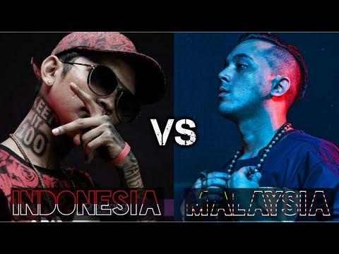 Indonesia VS Malaysia   Battle Rap Hip Hop