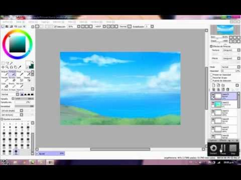 paint tool sai how to make a background transparent