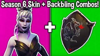 10 BEST SEASON 6 SKIN + BACKBLING COMBOS in Fortnite Battle Royale)