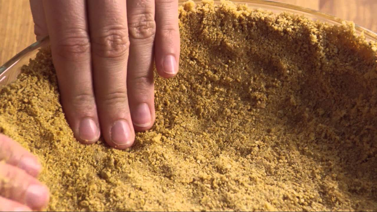 How to Make Graham Cracker Crust - YouTube