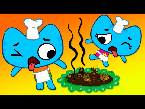 Котики, вперед! - Торт для принцессы (6 серия) - мультики для детей про котиков Котю и Катю