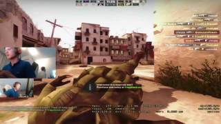 CS:GO - s1mple playing Deathmatch (twitch stream)