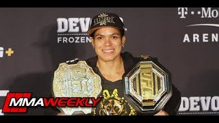 Amanda Nunes Details Victory Headkick Over Holly Holm  (UFC 239)