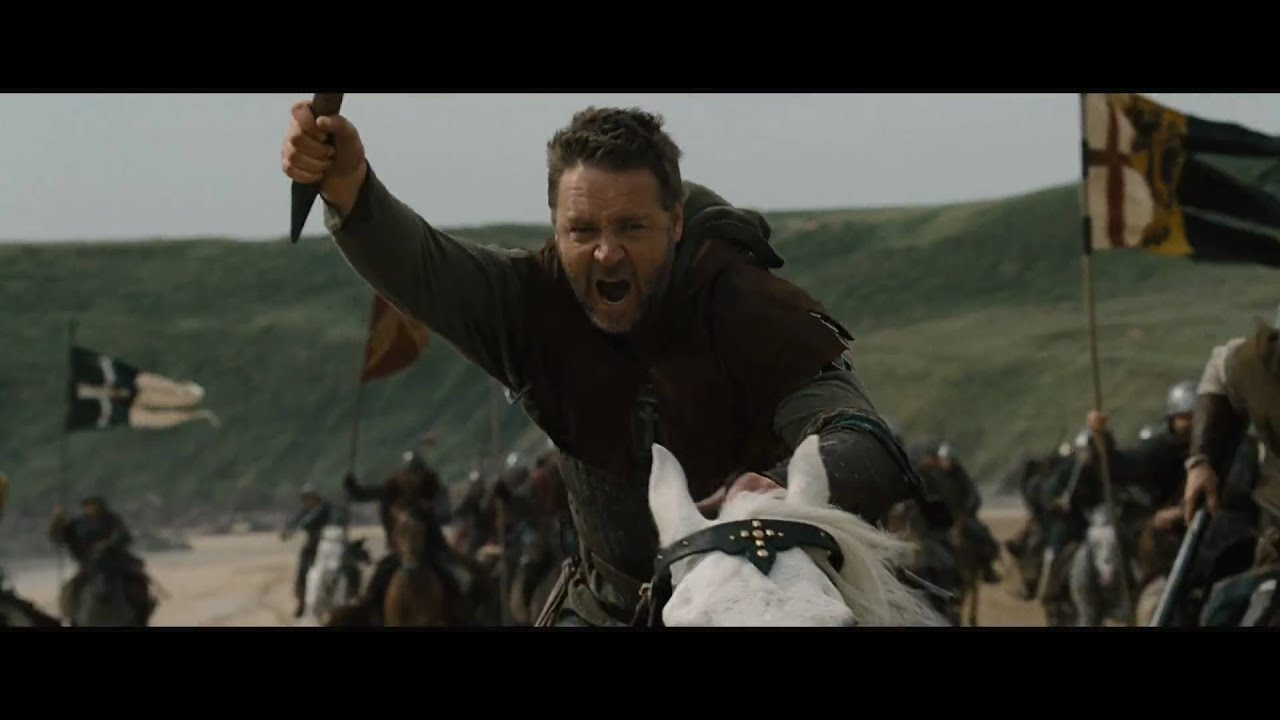 Robin Hood  Ridley Scott  Trailer n°1 (HD)  YouTube ~ Robin Des Bois Ridley Scott
