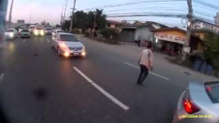 Motociclist scapa cu viata la limita lucky man ali