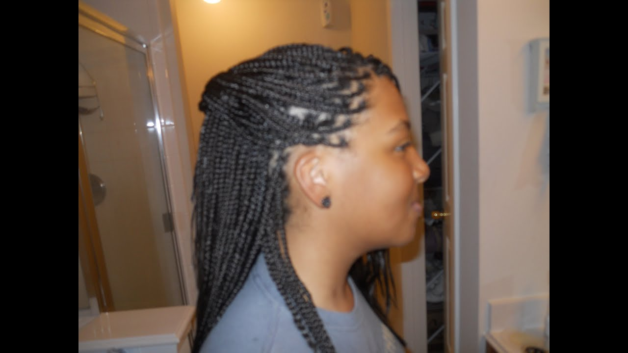 teen hair pick n drop braids freestlye braids youtube