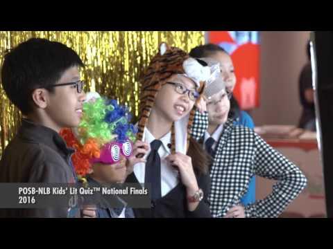 POSB-NLB Kids' Lit Quiz 2016 Singapore