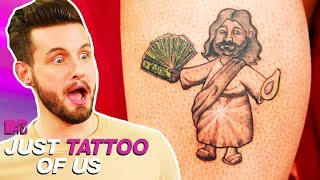 Is That Jesus Holding An Avocado? | Silliest Tattoos | Just Tattoo Of Us