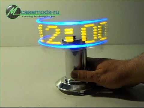 Проецируемые часы своими руками