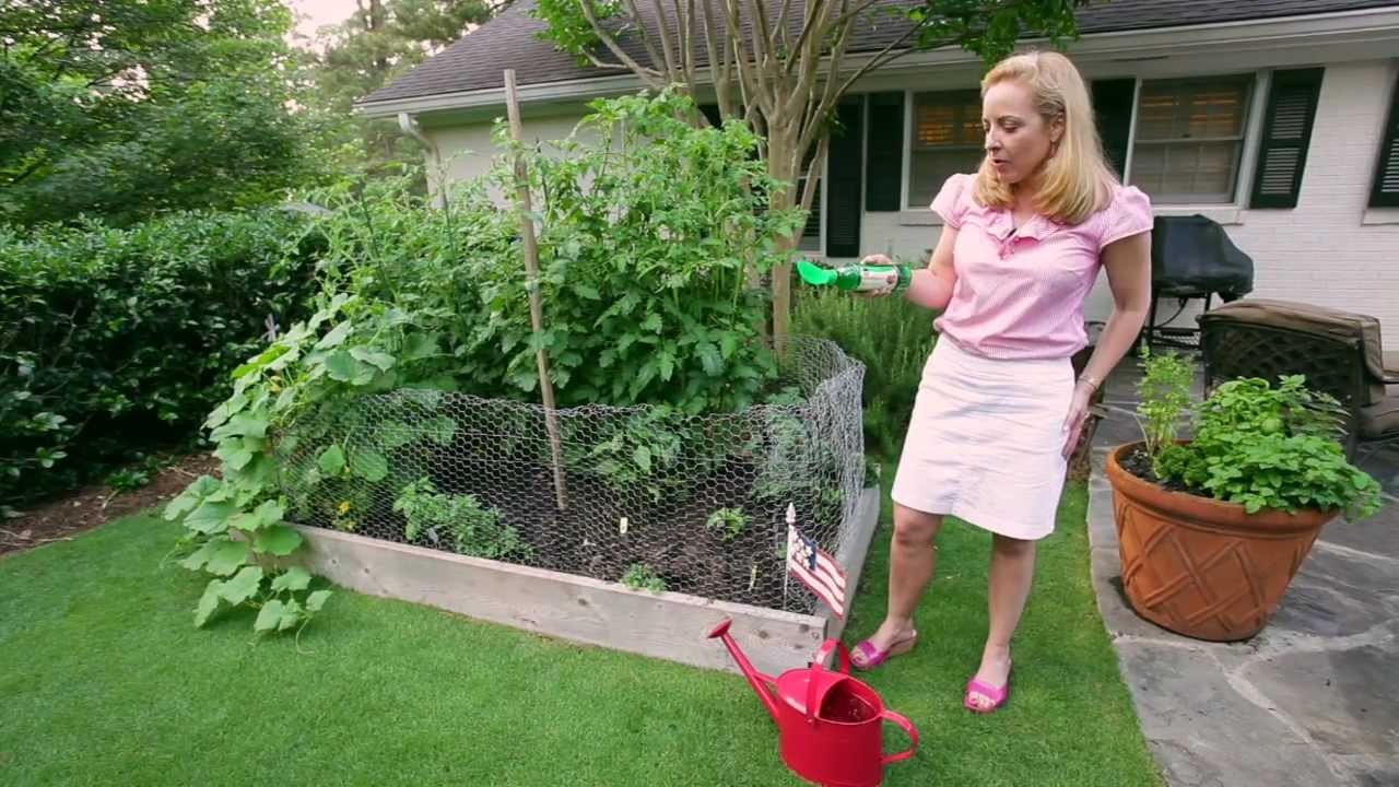 Gardenieres southern style vegetable gardening youtube for Stylish vegetable garden