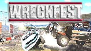 I HAD THE LEAD AND THEN... !! - WRECKFEST (Races & Crashes)