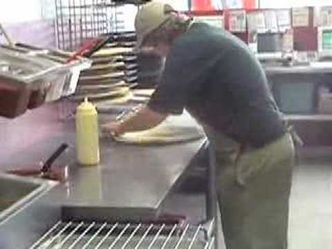 Papa John's Pizza Making