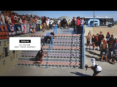 CA Pro-Am SUPRA Best Trick Contest