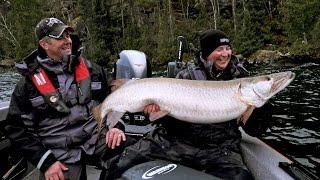 Big Ontario Muskies in November - In-Depth Outdoors TV, Season 11 Episode 2