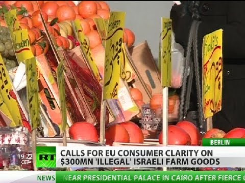 EU calls for labeling of products from illegal Israeli settlements