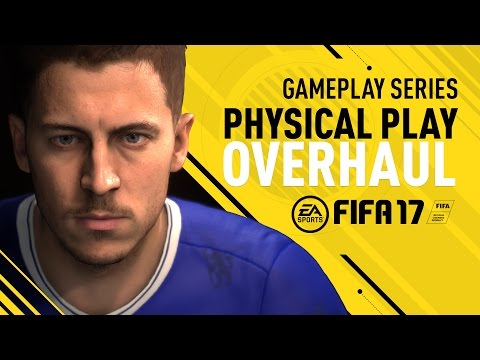 FIFA 17 Gameplay Features - Physical Play Overhaul - Eden Hazard