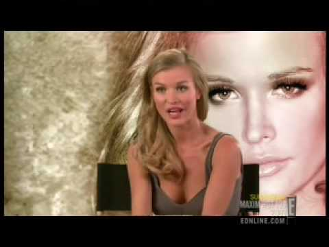 Joanna Krupa interview Maxim Hot 100 show on E! 2009