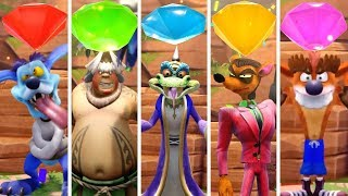 Crash Team Racing Nitro Fueled - All Gems Cups (Unlock Bosses)