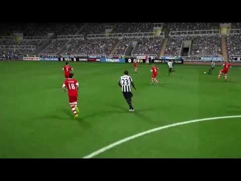 Shola Ameobi at his best on FIFA 14