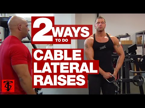 Cable Lateral Raise Image 1