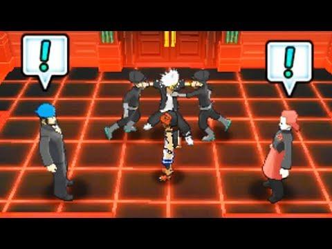 Archie meets Maxie in Pokémon Ultra Sun and Moon