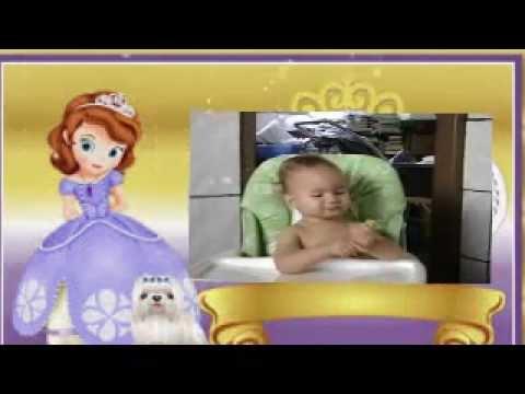 Retrospectiva de Aniversário - Princesa Sofia