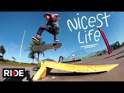 The Nicest Life - Skate and Explore Aracaju with Sergio Santoro - Episode 4