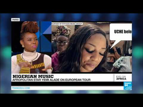 "Yemi Alade Talks Africa, Music, Davido, European Tour & More on France 24's ""Eye on Africa"""