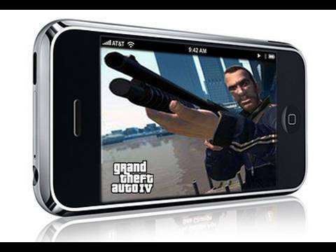 Grand Theft Auto on iPhone (AR#91)