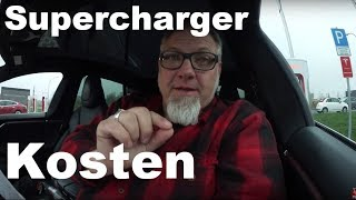 Supercharger Kosten vs Free Supercharging macht dick
