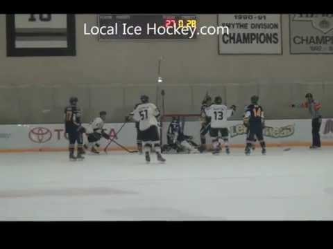 Manny Banuelos deflects in Goal from Nathan Fournier and Travis Martin For LA Kings 18aa