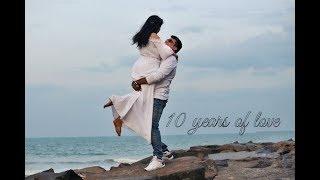 BEST 10th wedding Anniversary, VIDIT VANDANA JOURNEY, 10th Anniversary family concept video