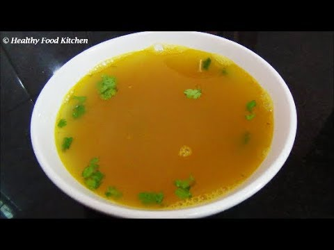 Murungai Keerai Soup Recipe-Drumstick Leaves Soup Recipe By Healthy Food Kitchen