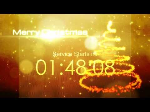 10 Minutes Christmas Countdown video