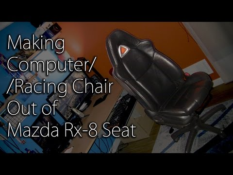 Making A Computer Chair Out of a Car Chair