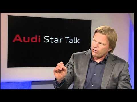 Oliver Kahn und Sandra Gal im Audi Star Talk - TEIL1